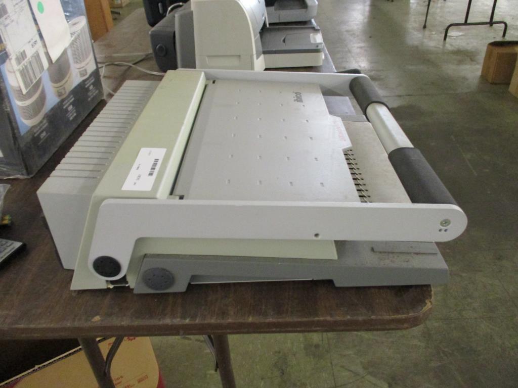 Lot: Ibico ibiMaster 300 Binding Machine  | Proxibid Auctions