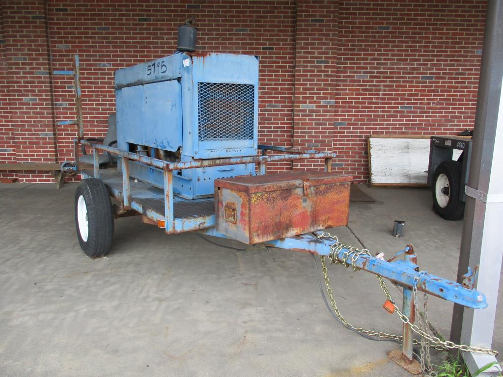 Miller Trailblazer Diesel Powered Welder 44D.