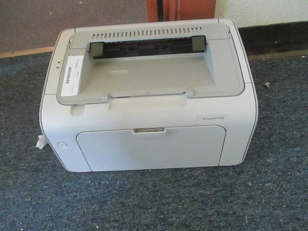Hp Laserjet P1005 Printer Computers Electronics Computers Accessories Printers Scanners Supplies Online Auctions Proxibid