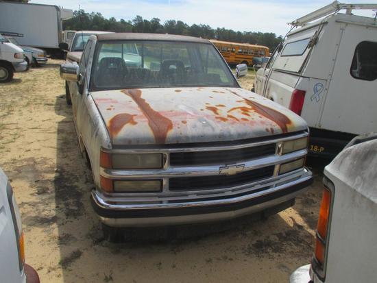 1994, Chevrolet, C/K 1500, Pickup Truck,
