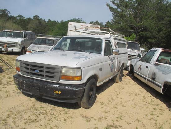 1994, Ford, F-150, Pickup Truck,