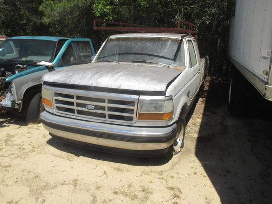1993, Ford, F-150, Pickup Truck,