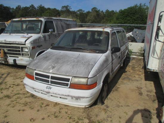 1994, Dodge, Caravan, Van,
