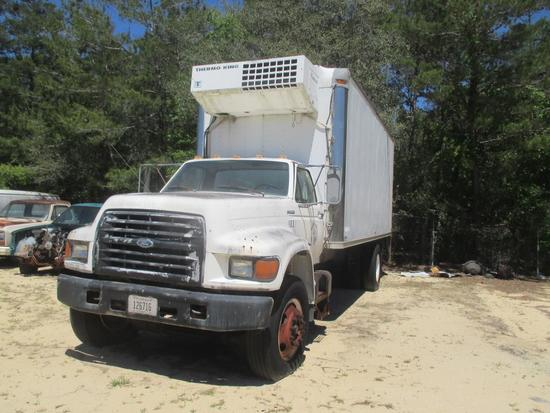 1998, Ford, F800, Refrigerated Truck,
