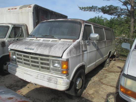 1992, Dodge, Ram B350, Van,