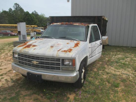 1993, Chevrolet, C/K 3500, Truck,