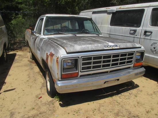 1985, Dodge, D150, Pickup Truck,