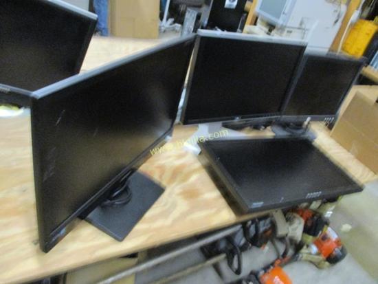 (4) LCD Monitors.