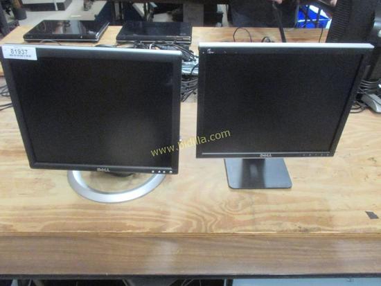 "(2) Dell 17"" Monitors"