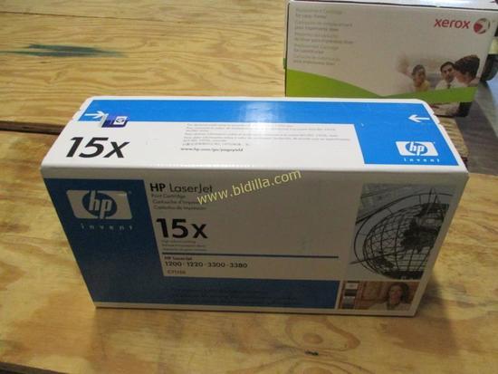 HP LaserJet 15x Toner Cartridge.