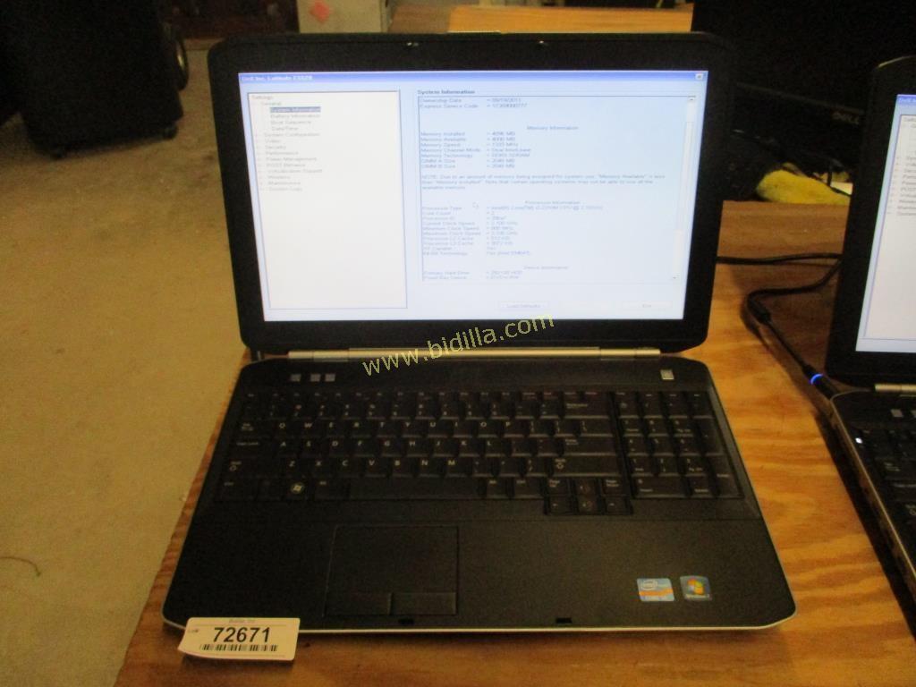 Dell Latitude E5520 Laptop Computer.