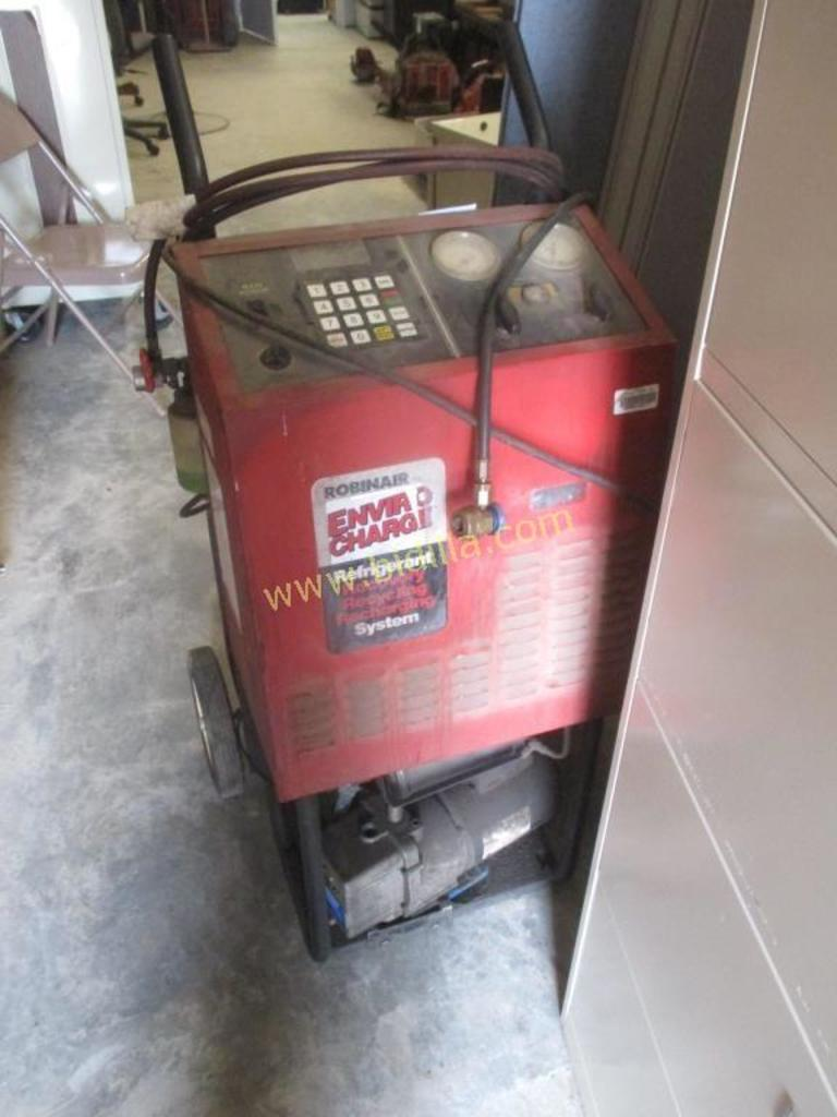 Robin Air Freon Recovery System