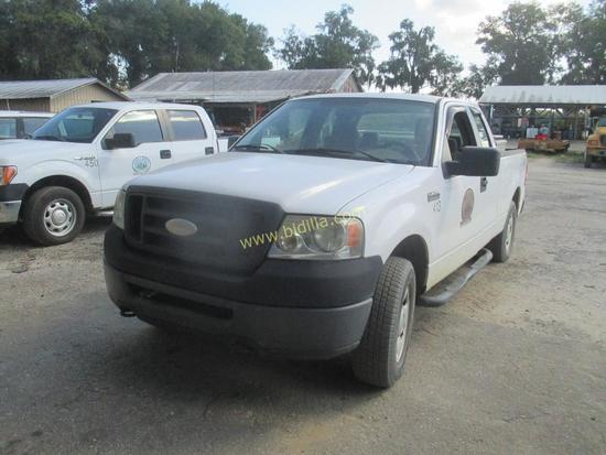 2007 Ford F-150 4WD Pickup Truck