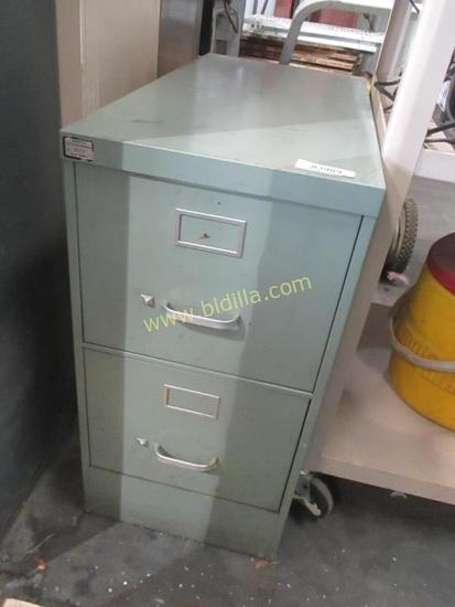 2 Drawer Standard File Cabinet