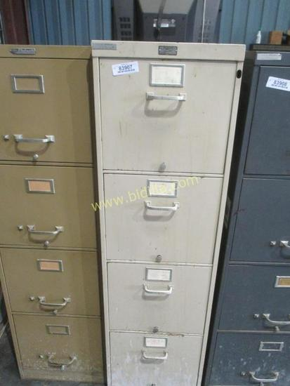 4 Drawer Standard File Cabinet