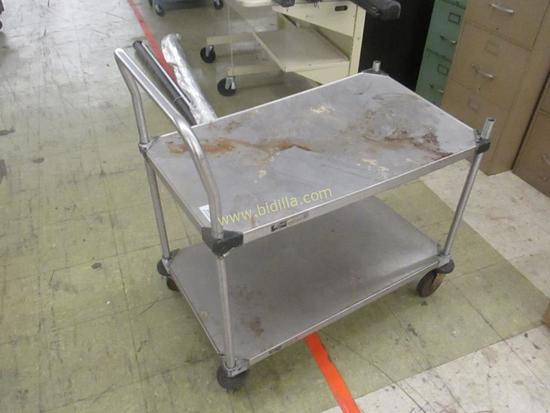 Metro 2 Tier Stainless Steel Cart