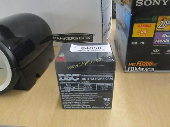 DSC 12 Volt Battery