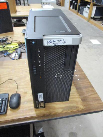 Dell Precision T7600 Desktop Computer.