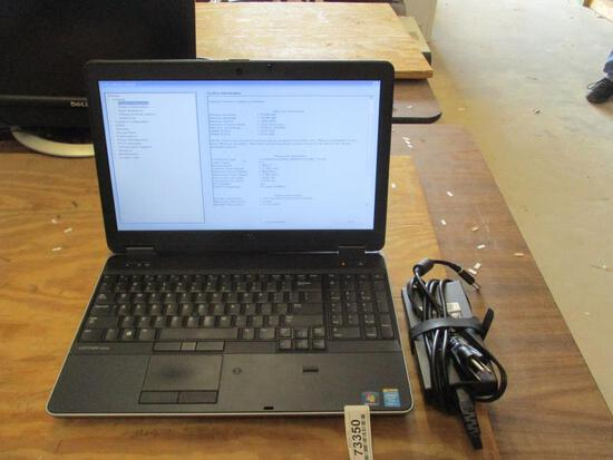 Dell Latitude E6540 Laptop Computer.