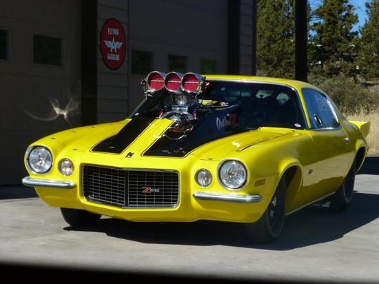 1971 Chevrolet Camaro 2DR