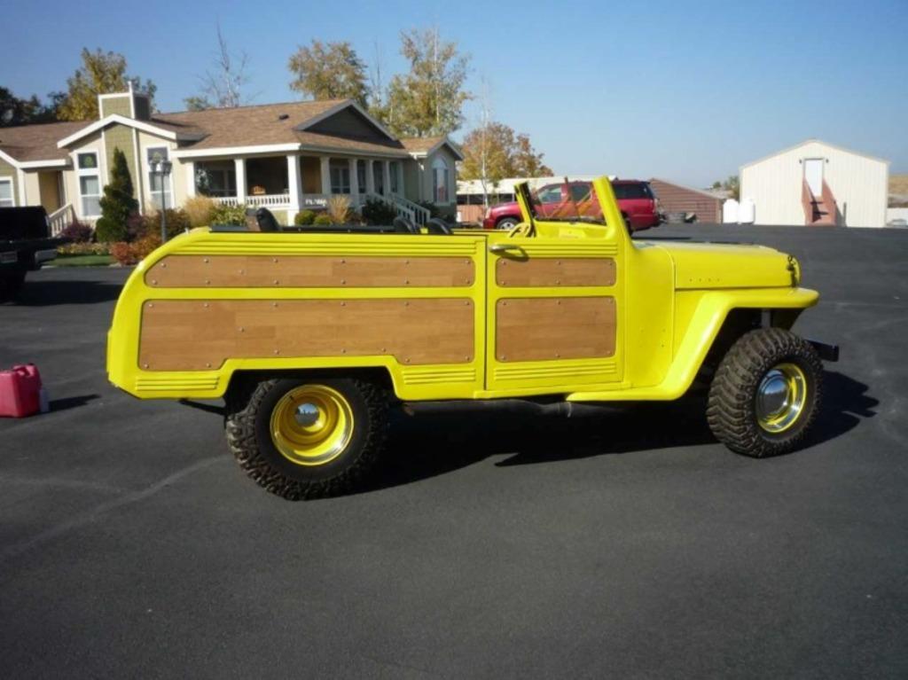 1950 Willys Custom Wagon Roadster