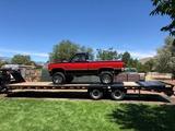 2017 Big Tex Flatbed Car hauler Trailer