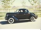 1936 Ford De Luxe 5 Window Coupe
