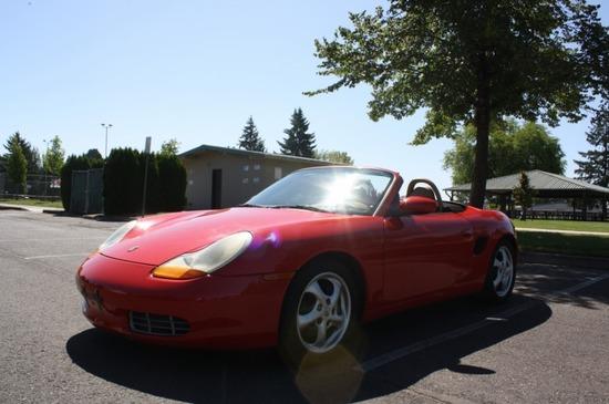 1999 Porsche Boxter 2 Door Convertible