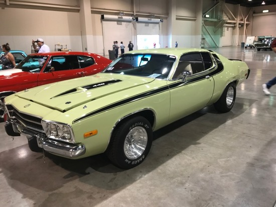 1973 Plymouth Satellite Coupe