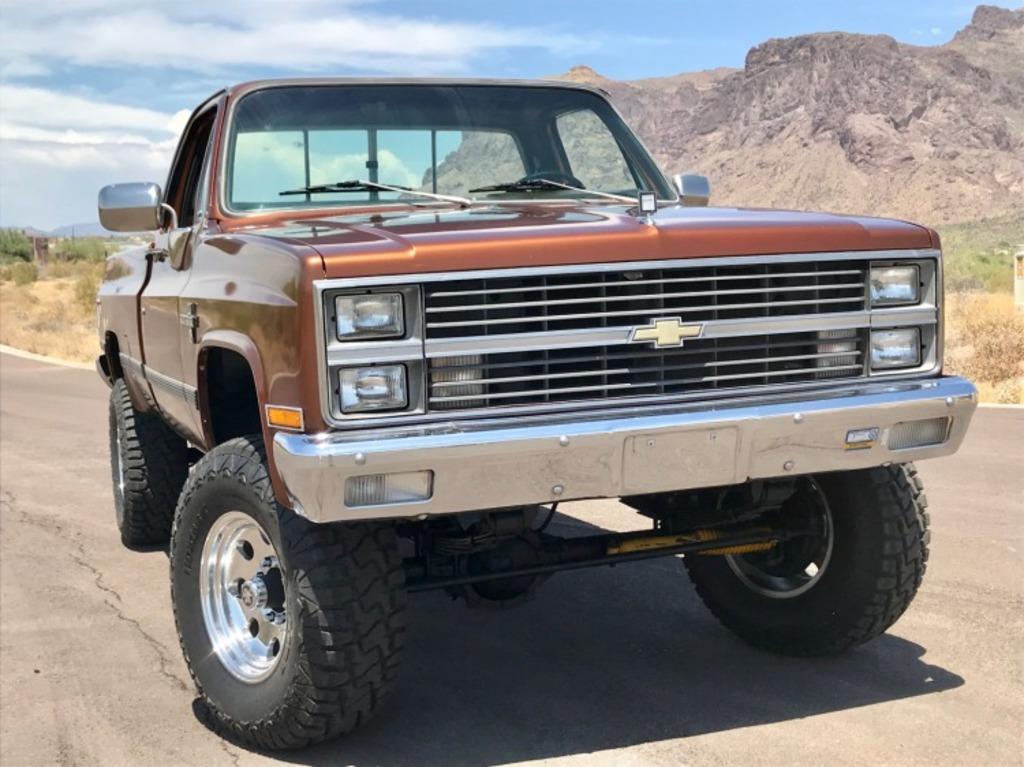 1983 Chevrolet k20 4X4