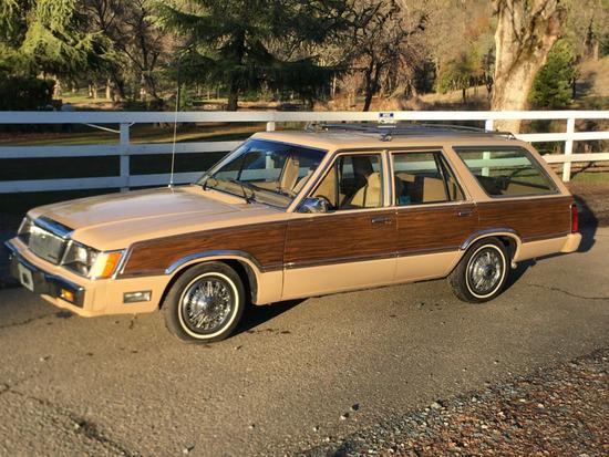 1984 Mercury Marquis Brougham Woody Wagon
