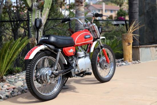 1971 Yamaha JT1 60 motorcycle