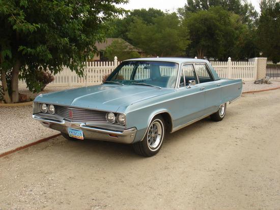 1968 Chrysler Newport 4 Door Sedan