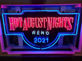 Custom 1 of 3 Limited Edition Hot August Nights Neon*HAN Charity