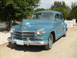 1948 Plymouth Special Deluxe 4 Door Sedan