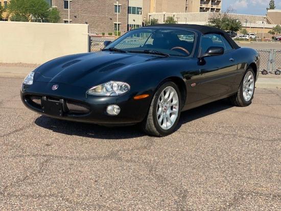 2001 Jaguar XKR Convertible