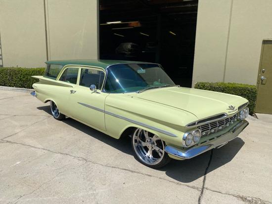 1959 Chevrolet Brookwood Wagon 2D   **** HAN Charity Car *****