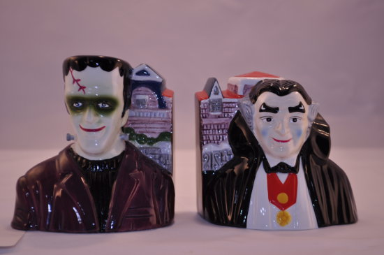 Munsters Salt and Pepper Shakers