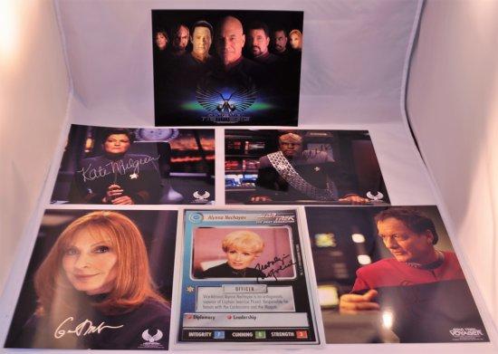 Star Trek Autographed 8x10 Photos