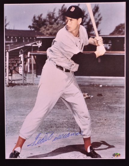 Ted Williams Autographed Picture