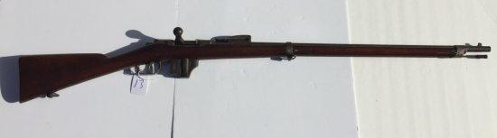 P. STEVENS MAASTRICHT DUTCH 1873 MODEL BEAUMONT VITALI M1871 / 88 (398) 11.3 X 51 R CAL. (4308)