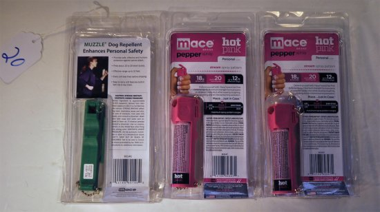 MACE BRAND AND DOG REPELLENT 3 PCS