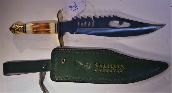 """CHIPAWAY CUTLERY BOWIE STYLE KNIFE 18"""""""