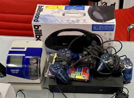 Time Clock, Speaker, PS2                                          R1