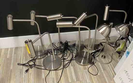 Asstd. SS Desk Lamps                                                 R1
