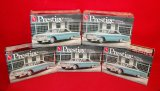 (5) AMT/Ertl 1963 Prestige Ford Galaxie Model Kits