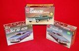 (3) AMT/Ertl 1960's Ford / Chevrolet Model Kits
