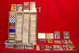 Over 1,000 Collector Cards from 1988 - 1999