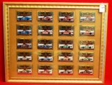 Framed Winston Cup 20th Anniversary Champions