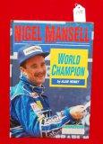 1992 Nigel Mansell World Champion Hardback Book